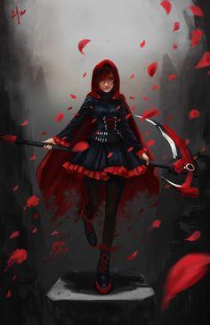 Red Like Roses RWBY