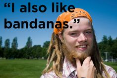 25 Frightening Facts About White Guys With Dreads <--- not frightening at all.