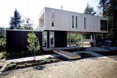 Une maison trois fois plus petite | Lucie Lavigne | Architecture