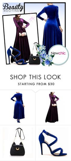 """""""NEWCHIC routine"""" by mezzy-military ❤ liked on Polyvore"""