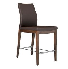 Pasha Wood Bar Stool by sohoConcept at 212Concept - Modern Living