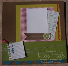 StampWithKriss.com » Blog Archive » For the Record Scrappin' Kit