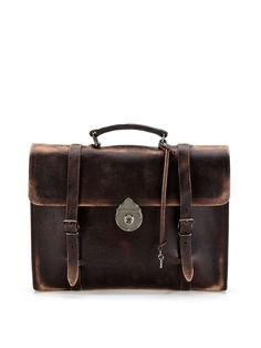 Distressed Briefcase by Dolce & Gabbana at Gilt