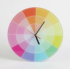 colourwheel clock