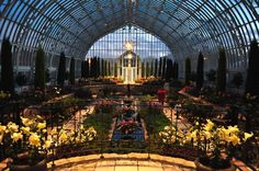 Como Park Zoo & Conservatory - so pretty! Episode Interactive Backgrounds, Episode Backgrounds, Beautiful Places To Visit, Beautiful World, Como Conservatory, Victorian Conservatory, Small Greenhouse, Greenhouse Ideas, Sunken Garden