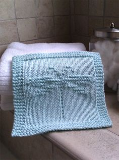 Free Knitting Pattern for Easy Dragonfly Washcloth - Pattern includes a chart as well as line by line instructions. This reminds me of the Outlander book Dragonfly in Amber. Designed by Jackie Jones. Pictured project by bleuknits. Rated easy by Ravelrers