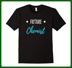 Mens Future Chemist T-Shirt Funny Chemistry School Gift Shirt Medium Black - Careers professions shirts (*Amazon Partner-Link)