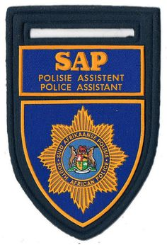 POLICE AIDE EMBROIDERED PATCH AUXILIARY
