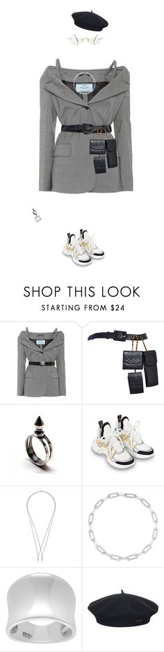 """Cute and rich"" by stacy4422 ❤ liked on Polyvore featuring Prada, Chanel, Dsquared2, CHARLOTTE VALKENIERS, Tressa, Element and Jean-Paul Gaultier"
