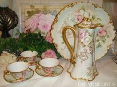 victorian tea sets - Google Search