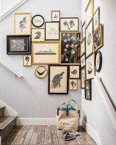Wall gallery around the corner
