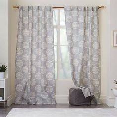 curtains with medallions - Google Search
