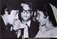 At the premiere of Pakeezah