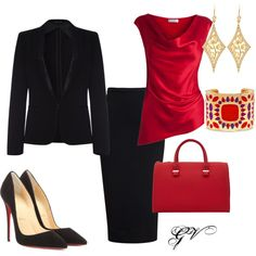 """""""pencil skirt #1"""" by vicinogiovanna on Polyvore"""