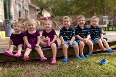 Phillips Quintuplets were October 25, 2008 in Texas. The quints are pictured with their brother, who is one yr older. http://phillipsmultiples.blogspot.com/