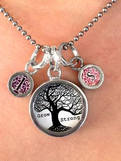 Two sided charm or pendant with any letter of your choosing.Wear alone or combine with more charms to create an individualized gift for your friend or family member! Each charm has a clip at the top that will easily attach to any of our necklace or bracelet chains! $9.99 by Pick Up Sticks Jewelry.