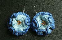 Eleven handmade crochets by Linda Skuja - blog: Coral flower earrings by Eleven ~ free pattern