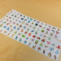 Generation 2 Pokemon Sticker! Perfect for your Erin Condren Life Planner,Filofax, Plum Paper & other planner or scrapbooking!