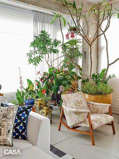 Blog de Decoração Perfeita Ordem: Apartamento em Salvador... Muita cor e aconchego em cada detalhe