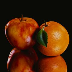 Realistic fruit. Blender3D Cycles engine.