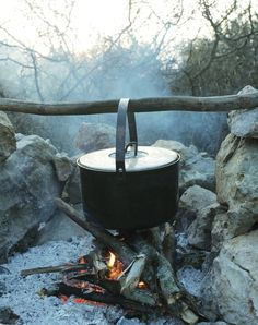 Nothing like home cooking in the great outdoors!