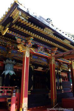 Kunozan Toshogu Shrine in Shizuoka Prefecture: http://zoomingjapan.com/travel/nihondaira-kunozan-toshogu-shrine/