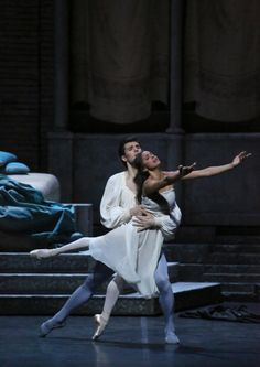 Roberto Bolle and Misty Copeland in 'Romeo and Juliet' at Teatro all Scala