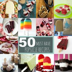50 must have popsicle recipes
