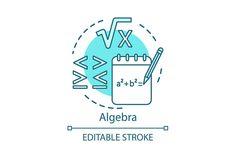 Math Logo, Fitness Logo, Neon Lighting, Algebra, Maths, Crossfit, Concept, Learning, Random