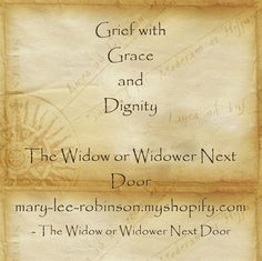 widower grief and new love