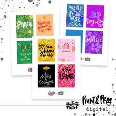 Letters, Doodling, & Jesus by Valerie Wieners - Illustrated Faith Faith Bible, Illustrated Faith, Love Letters, Ephemera, Pray, Journaling, Doodles, Printable, Rainbow