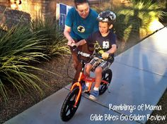 Top Notch Material: Glide Bikes Go Glider Balance Bike, Teach your kiddo to ride their bike without training wheels. Nuse Mommy's Review #GlideBike #testimonial #review glidebikes.com