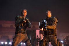 Terminator Genisys Movie Image Jason Clarke and Jai Courtney 1