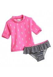Carter's Seahorse Rash Guard Swimsuit Set - Toddler - absolute must have! Cute Bathing Suits, Rash Guard, Swimsuits, Swimwear, Toddler Boys, Kids Outfits, How To Wear, Sweet Peas, Winter Springs