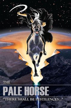 """The Black Horse - """"There Shall Be Famines. Revelation Bible Study, Horsemen Of The Apocalypse, Pale Horse, Bible Illustrations, Jesus Is Coming, Jesus Art, Bible Knowledge, Jesus Is Lord, Knight Of Cups"""