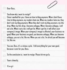 Education Resignation Letter  Episode   Hilarious