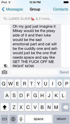 If 5sos had their period...I'm Mikey and Ash combined. But I like to cuddle all the time!!!