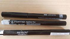 eyeliner she, flormar, revlon review