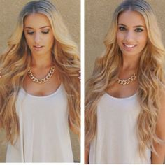 Blonde Ombe=Re Beauty Lace Front Wig 22-26 Inches!