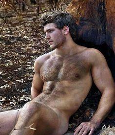 naked Beautiful men hairy