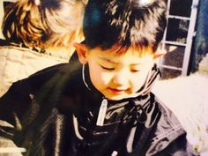 chanyeol when he was a kid