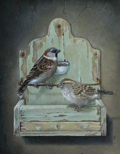 Suzan Visser - Beeldend kunstenaar en illustrator - Klokje