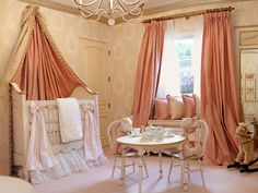 Princess-Inspired Girls' Rooms | Home Remodeling - Ideas for Basements, Home Theaters & More | HGTV