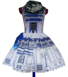 R2D2 Costume PLUS Size's Available Star Wars Dress by RoobyLane