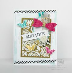 I love the Artisan Embellishment Kit! Try embossing the Die-Cut Card for a different look. ~ Sarah Sagert
