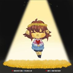 """Despite everything it's still you"" - Awesome Undertale fanart"
