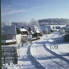 Winter wonderland in Slovakia Mountain Landscape, Winter Landscape, Carpathian Mountains, Heart Of Europe, Winter Pictures, Bratislava, Eastern Europe, Wanderlust Travel, Winter Snow