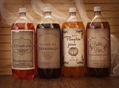 harri potter, halloween parties, bottle labels, printable labels, halloween drinks