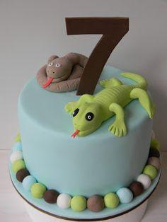 50 best Lizard Cakes images on Pinterest   Lizard cake, Animal ...