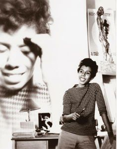 """""""This is one of the glories of man, the inventiveness of the human mind and the human spirit: whenever life doesn't seem to give an answer, we create one."""" -- Lorraine Hansberry (1930-1965), author and playwright  Lorraine Vivian Hansberry was the first black woman to write a play performed on Broadway, """"A Raisin in the Sun."""" She inspired Nina Simone to write the song, """"To Be Young, Gifted and Black."""""""